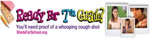 7th Grade Whooping Cough Vaccine